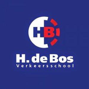 Autorijschool H. de Bos logo