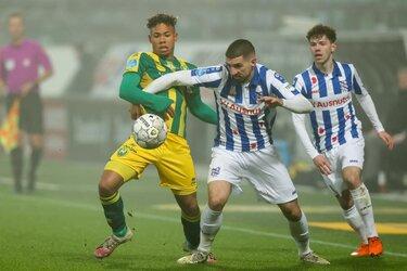 ADO Den Haag houdt SC Heerenveen op gelijkspel