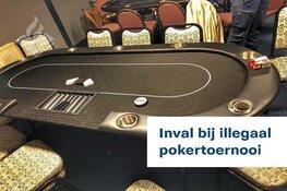 Politie Sneek doet inval bij illegaal pokertoernooi. Tien keer proces-verbaal