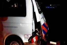 Getuigen gezocht vernieling politieauto met vuurwerk