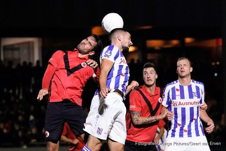 SC Heerenveen pas in slotkwartier langs AFC